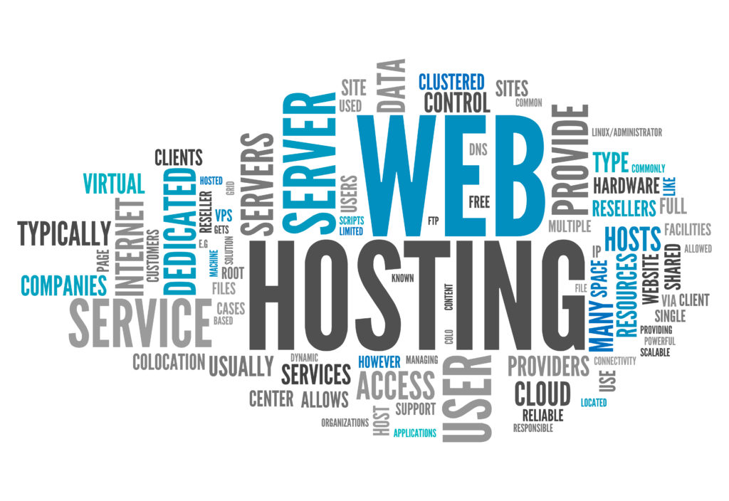 Web hosting service choosing