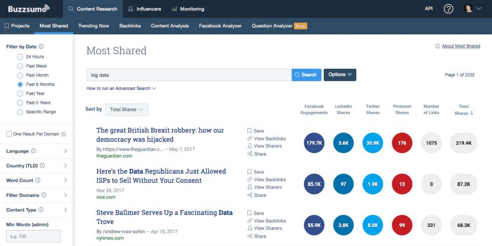 buzzsumo for local seo